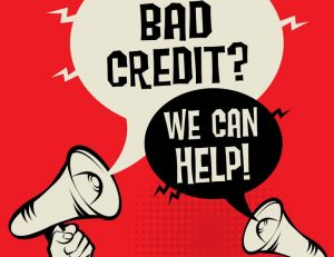 Bad credit? We can help!